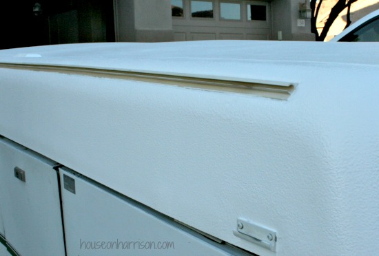 Pop Up Camper Remodel: Repairing a Coleman ABS Roof - The Pop Up
