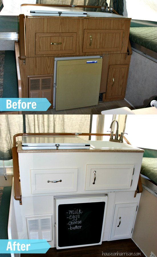 Kitchen Top Up : Pop Up Camper Remodel: Replacing the Countertops - The Pop Up Princess