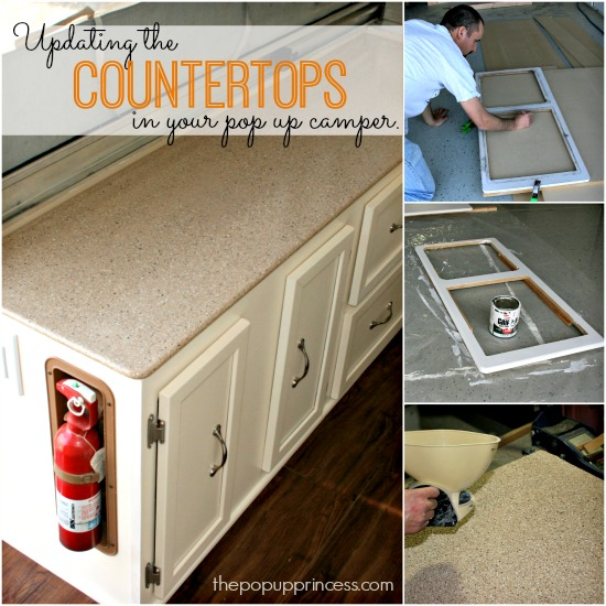 Replacing Countertops in Your Camper