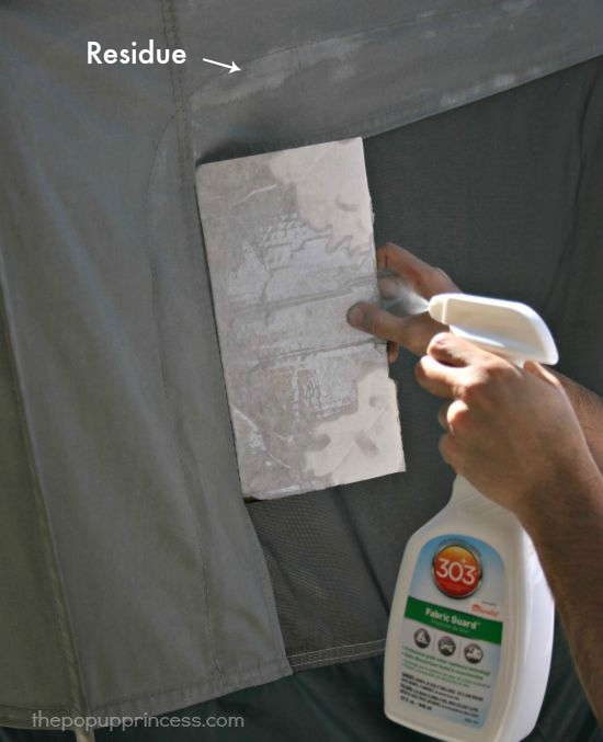 Cleaning & Waterproofing Pop Up Camper Canvas - The Pop Up Princess