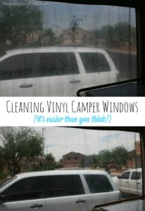 Cleaning {& Protecting} Your Vinyl Camper Windows