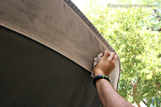 303 High Tech Fabric Guard for pop up c&ers & Cleaning u0026 Waterproofing Pop Up Camper Canvas - The Pop Up Princess