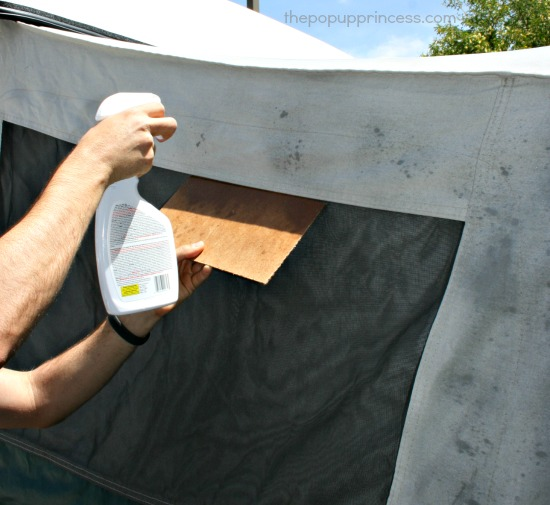 Waterproof Pop Up Canvas & Cleaning u0026 Waterproofing Pop Up Camper Canvas - The Pop Up Princess