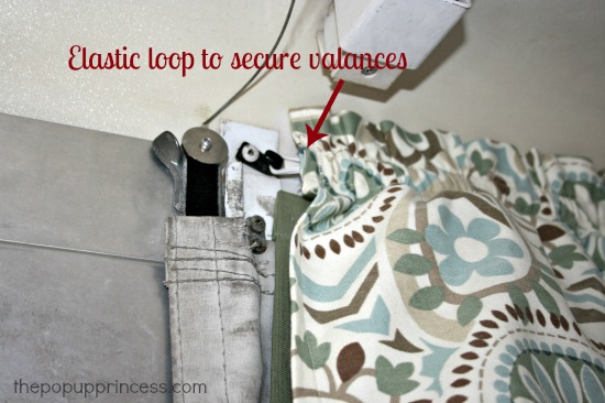 Pop Up Camper Valance