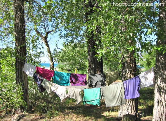 Laundry at Bear Lake