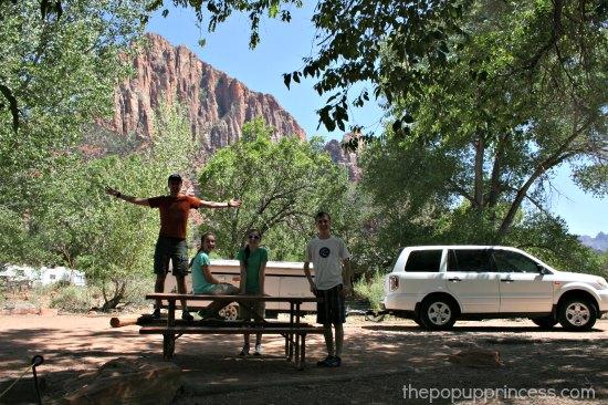 Zion Watchman Campground