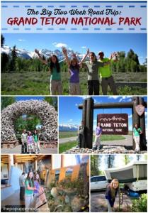 The Big Two Week Road Trip:  Grand Teton National Park