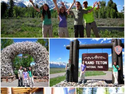 The Big Two Week Road Trip:  Grand Teton National Park