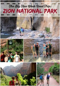 The Big Two Week Road Trip:  Zion National Park