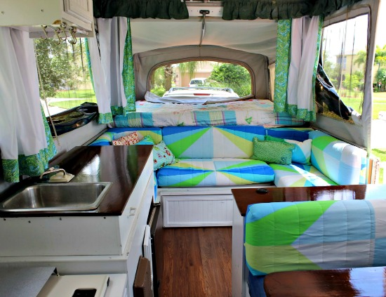 Five Pop Up Camper Makeovers That Will Inspire Motivate You