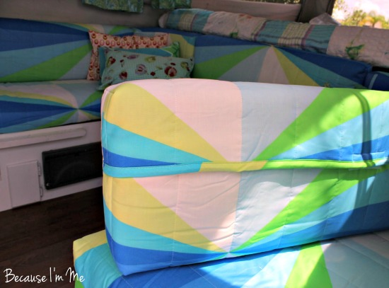 Camper Cushion Covers