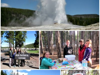 The Big Two Week Road Trip:  Yellowstone National Park
