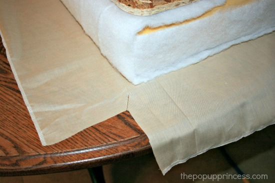 Sewing Camper Cushions