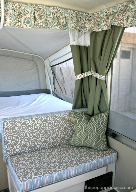 How to Sew Cushion Covers for your Camper