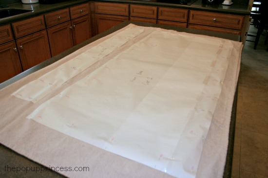 Cushion Slipcover Pattern