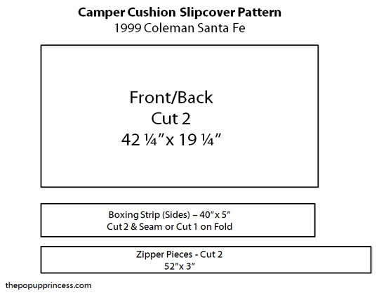 Camper Cushion Pattern