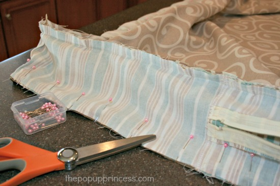 Zippered Sofa Cushion Covers How To Make Zippered Cushion