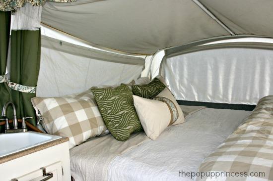 Pop Up Camper Decorating