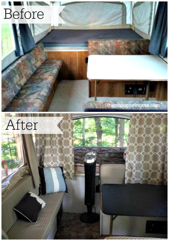 Tent Trailer Makeover
