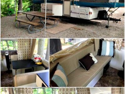 Cassie P.'s Pop Up Camper Makeover