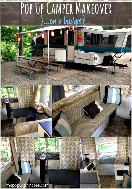 Coleman Pop Up Camper Remodel