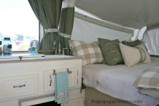 Pop Up Camper Remodel The Big Reveal The Pop Up Princess