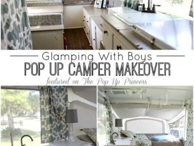 Ramie's Pop Up Camper Makeover