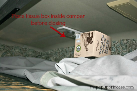 Camper Kleenex Box Test