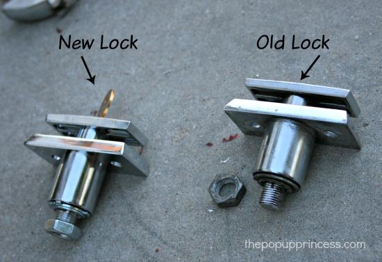 Pop Up Camper Locks
