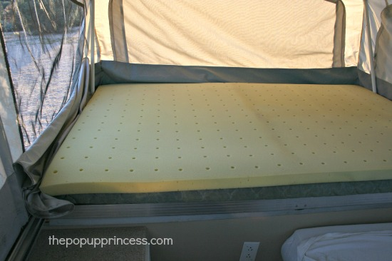 Memory Foam Pop Up Camper