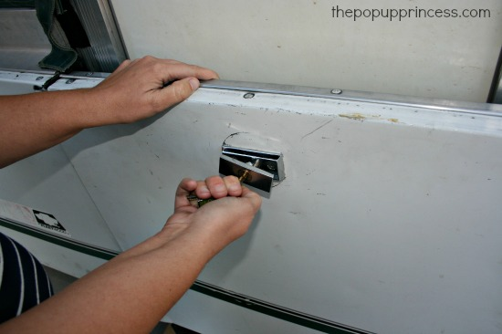 Replace The Lock On Your Pop Up Camper Stepper Door