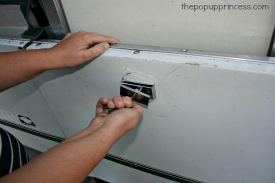 How to Repair a Pop Up Camper Door