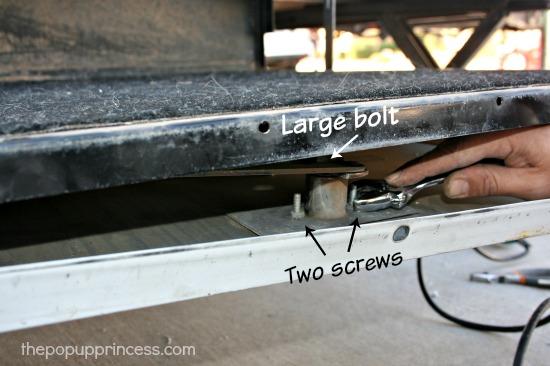 Repairing Pop Up Camper Door