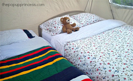 Pop Up Camper Bedding