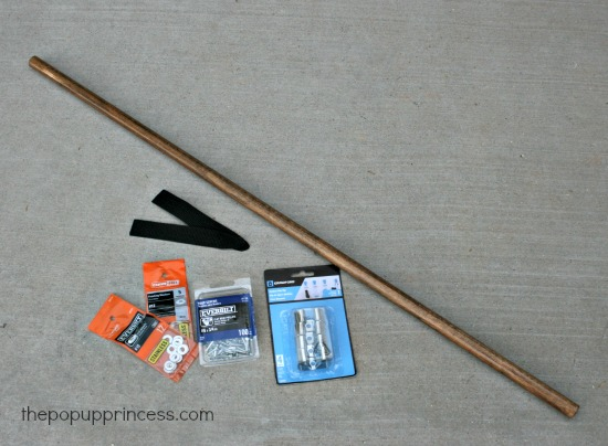 Supplies for Towel Bar
