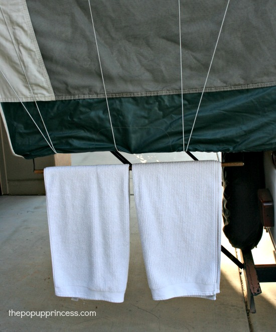 Towel Rack for Pop Up Camper