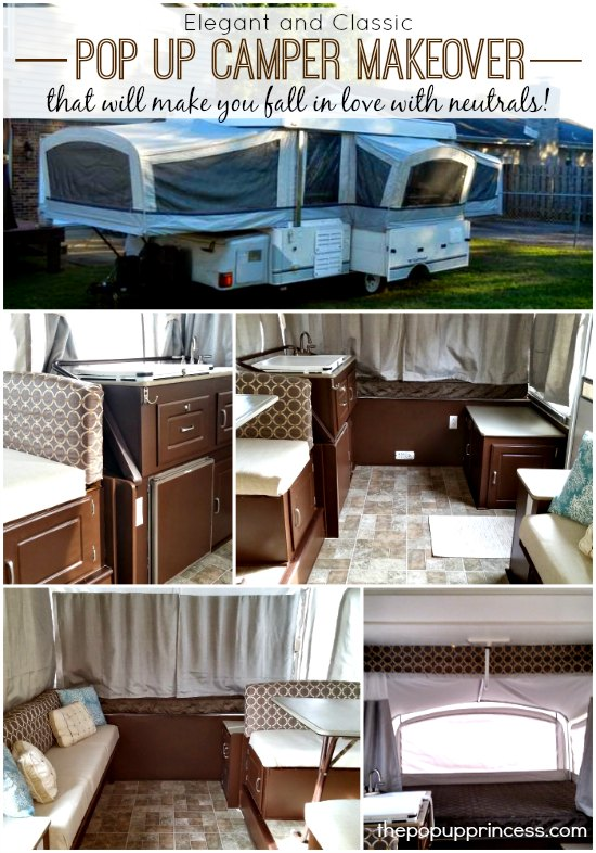 Cyndie S Pop Up Camper Makeover The Pop Up Princess