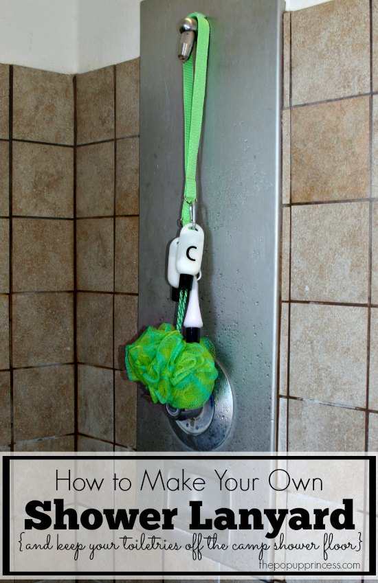 Shower Lanyard DIY