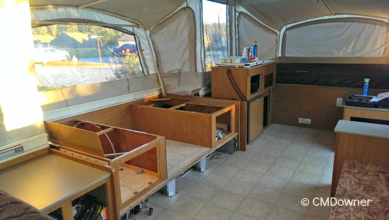 Remodeling a Pop Up Camper