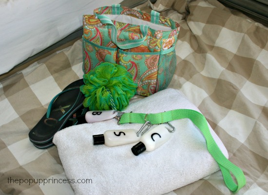 Camping Shower Bag
