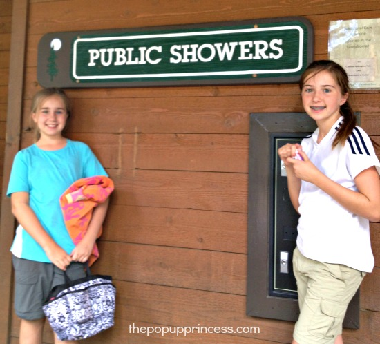 Campground Showers
