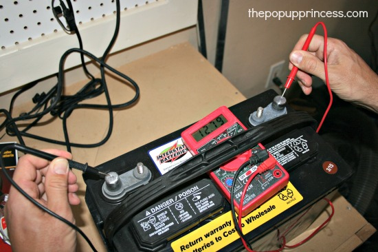 Testing Camper Batteries