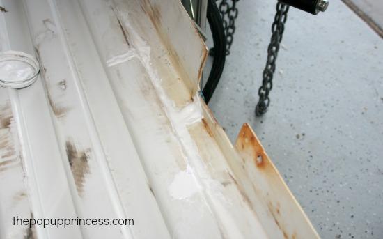 Repairing Camper Body Panels