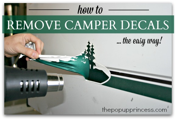 Removing Camper Decals