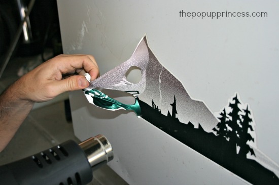Removing Camper Decals and Graphics