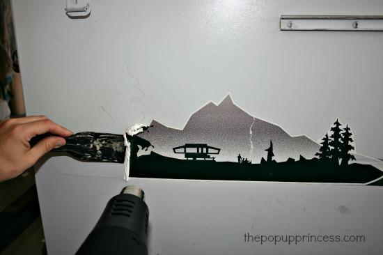 Removing Pop Up Camper Decals