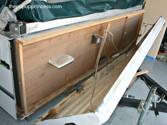 Removing ABS Panels from a Pop Up Camper