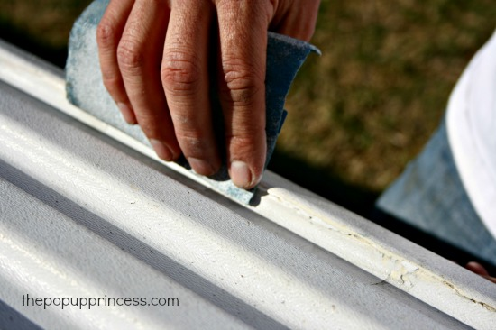 Repairing Body Panels on a Pop Up Camper