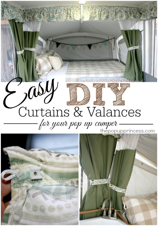 Pop Up Camper Curtains & Valances