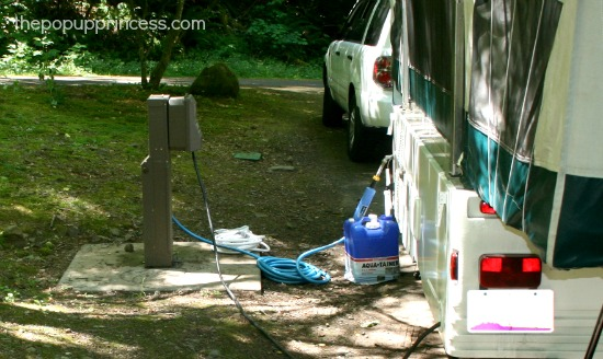 Tent Trailer Gray Water System